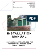 ARD Garage Door INSTALLATION MANUAL