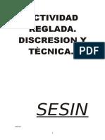 ACTIVIDAD REGLADA. DISCRECION Y TECNICA- SESIN.doc