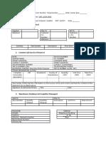 Track a Treat Worksheet (Blank)