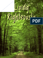 Living Righteously F.T. Wright
