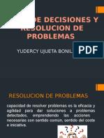 Toma de Decisiones y Resolucion de Problemas
