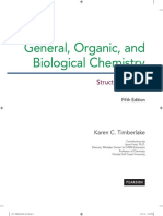 General,Organic and Biochemistry