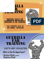 3 Guerilla Ear Training