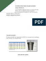 Diseño de Estructura Para Tanque Elevado
