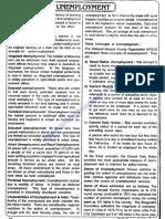 Indian Economy - Unemployment