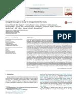 An epidemiological study of dengue