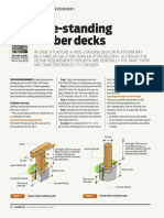 Build 139 36 Design Right Free Standing Timber Decks