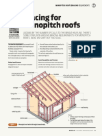 Build 145 41 Design Right Bracing for Monopitch Roofs