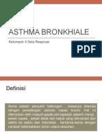 Asthma Bronkhiale