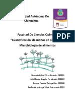 microbilogia de alimentos