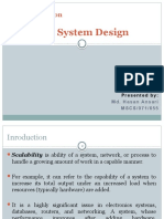 Scalable System Design