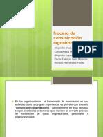 5 Proceso de Comunicación Organizacional