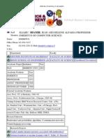 09-04-20 Prof Eli Shamir, Hebrew University, Jerusalem, directory information