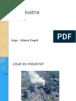Clasificación de La Industria