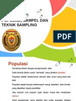 (3)Populasi, Sampel Dan Teknik Sampling (an)