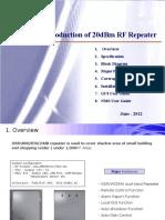 SUMTEL Repeater Intro 20dBm
