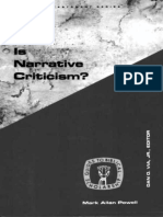 mark allan powell what is narrative criticism.epub