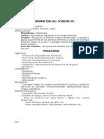 Programación Fonema k