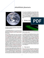 Habitabilidad planetaria