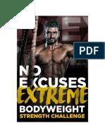 Extreme Bodyweight Strength Challenge
