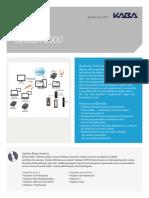 Saflok System 6000 Fact Sheet 3