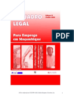 O Quadro Legal Para Emprego Em Mocambique