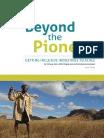 Beyond the Pioneer Report