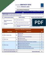 Certificado Ficha profesionalidad Auditoria y Gestión
