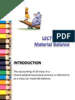 Lect_4CBB 30902- Mass Balance