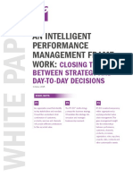 An Intelligent Performance Management Framework Whitepaper