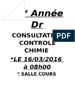 consultation chimie