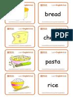 Flashcards Food Set 1