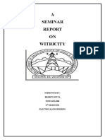 Project on Witricity