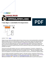 Como ligar o controlador de temperatura  Lamas Bier – Blog Oficial