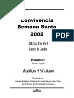 El Alma Blanca (Conv Sna Sta 2002)