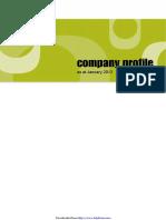 Company Profile Format Template