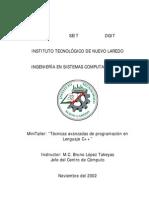Tecnicas Avanzadas de Programacion en Lenguaje C++ (Manual)