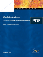 Monitoring and Assessing Results