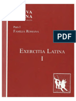 Lingua Latina Per Se Illustrata Pars I Exercitia Latina I