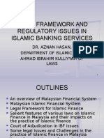 Legal Framework and Regulatory Issues in Islamic Banking