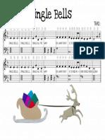 Jingle Bells song on Piano