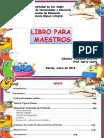 Libro Para Maestros (Aarte)