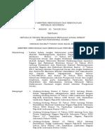 Permendikbud 92 2014 Tentang Juknis PAK Jafung Dosen