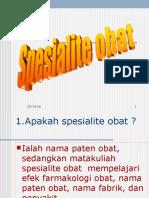 SPESIALITE OBAT 1