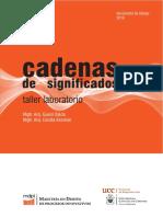 Cadenas de Significados- Taller Laboratorio 2016