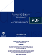 Programming for Engineers 1