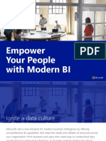 Empower Your People With Modern BI eBook en US