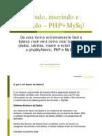 Tutorial Php + MySql