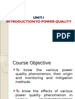 Power Quality Unit 1