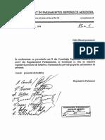 Proiect de Hotărâre privind grupurile parlamentare de prietenie